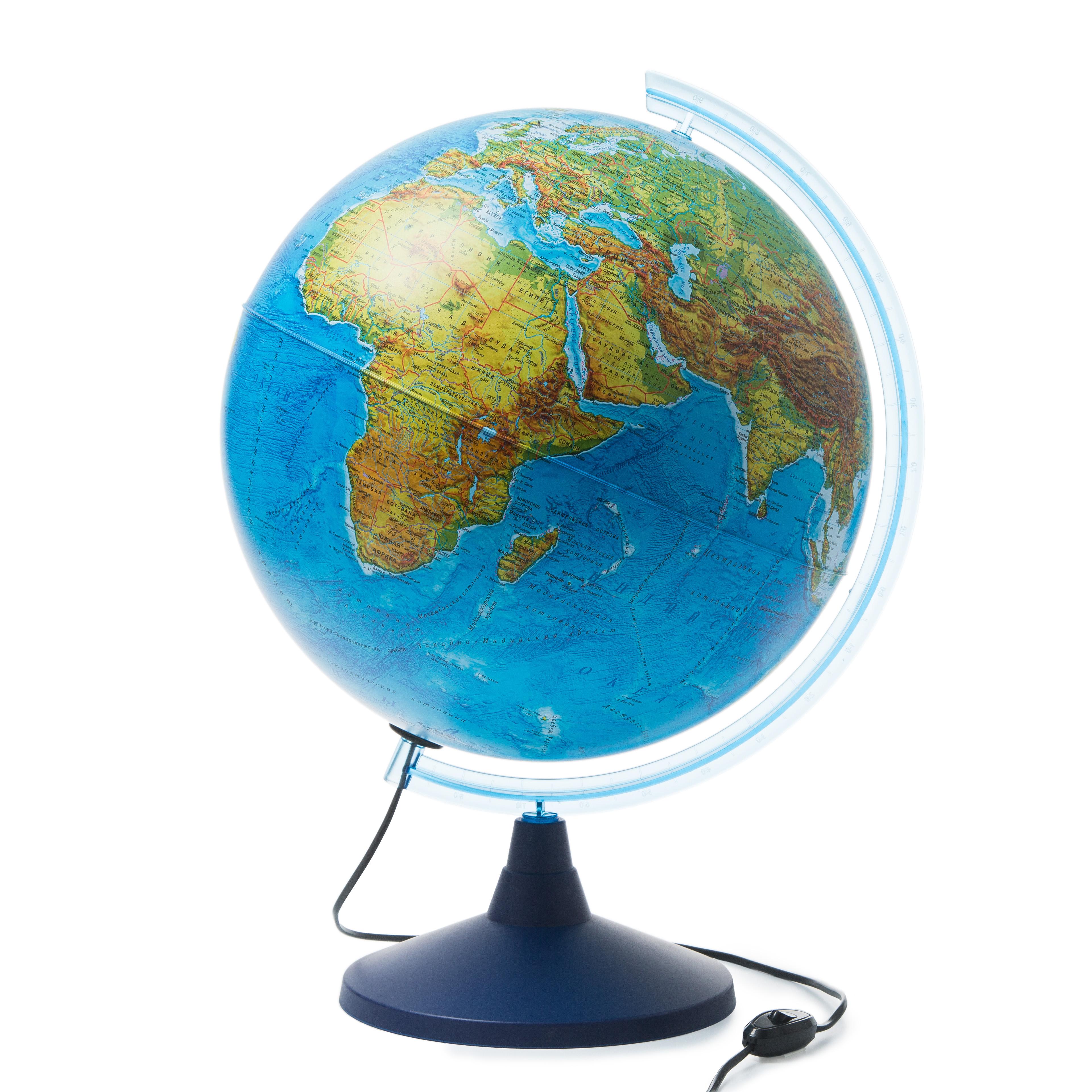 Globusy Globus Zemli D 40 S Dvojnoj Kartoj Fiziko Politicheskij